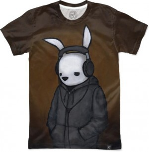 Headphones by Luke Chueh Men's T-Shirt Front
