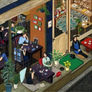 Cafe Esim by Paige Jiyoung Moon