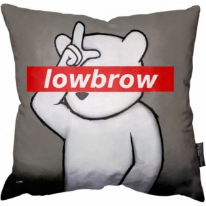 Luke Chueh Lowbrow Pillow