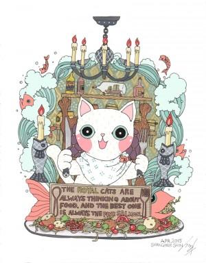 The Royal Cat by Shanghee Shin