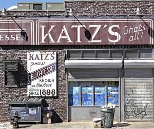 Katz's Deli by Randy Hage