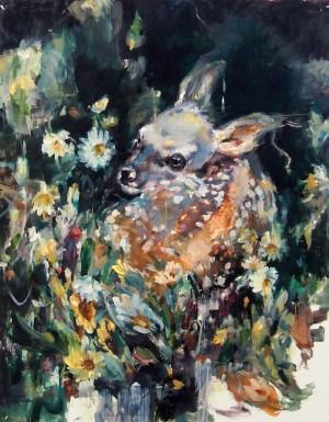 Lost In Green Deep by Jaclyn Alderete