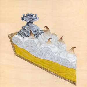 Lemon Meringue Pie by Roland Tamayo