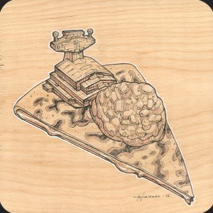 Quesadilla Study by Roland Tamayo