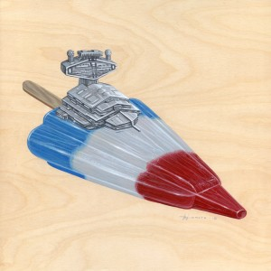 Rocket Popsicle by Roland Tamayo