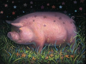 Piggie Dream by KiSung Koh