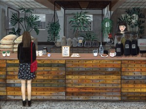 Cafe Anthracite by Paige Jiyoung Moon