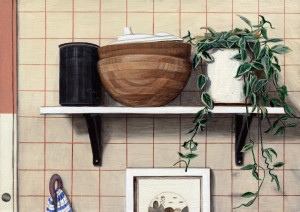 Kitchen Shelf by Paige Jiyoung Moon