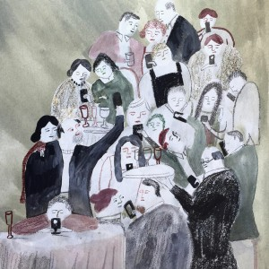 Dinner Party by Vivien Mildenberger