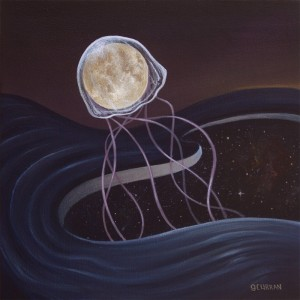 Solar Jelly Moon by Graham Curran