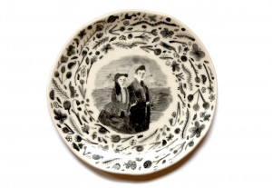 A Perfect Match Plate by Vivien Mildenberger