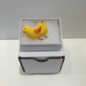 Baby Chick Brooch by Po Yang Leung