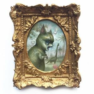 The Dinokitties by Mab Graves