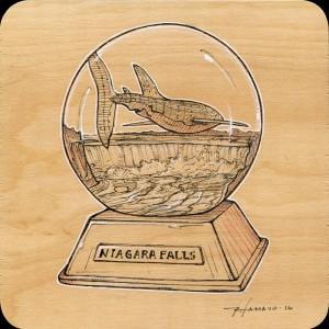 Niagara Falls Study by Roland Tamayo