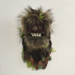 Mini Moss Troll I by Yetis & Friends