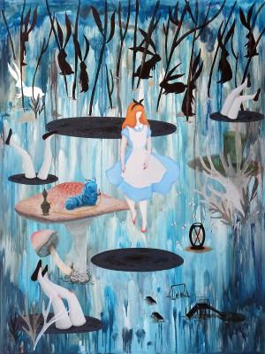 Alice in Wonderland by Mandy Cao