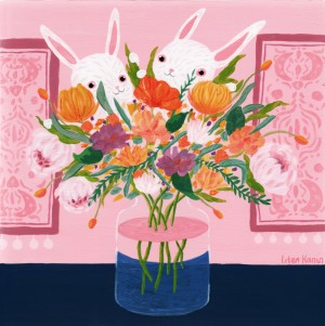 Bouquet of Flowers by Liten Kanin