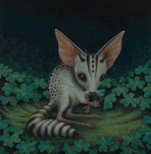 Ring-Tailed Clover Mouse by David Natale