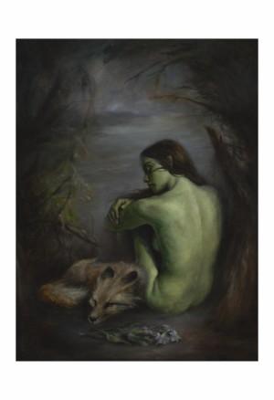 Nightshade by Valerie Pobjoy Print