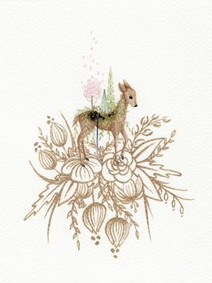 Wherever I Go - Spring by Emiko Woods
