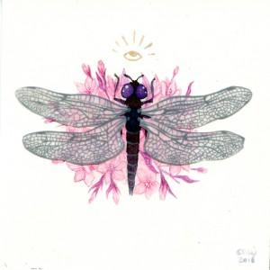 Dark-Winged Groundling by Nana Williams