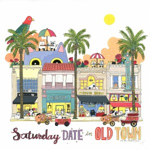 Saturday Date in Old Town by Shanghee Shin