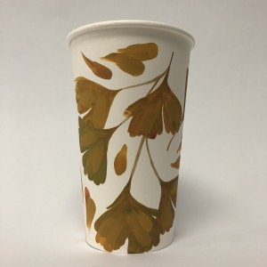 Paper Cup Art by Maggie Chiang Ginkgo 1
